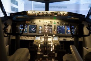 flight simulators cockpit