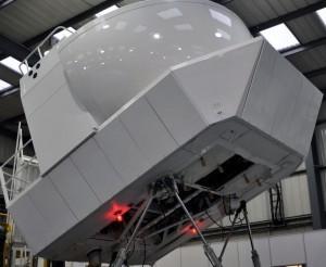 full motion A320 flight simulator