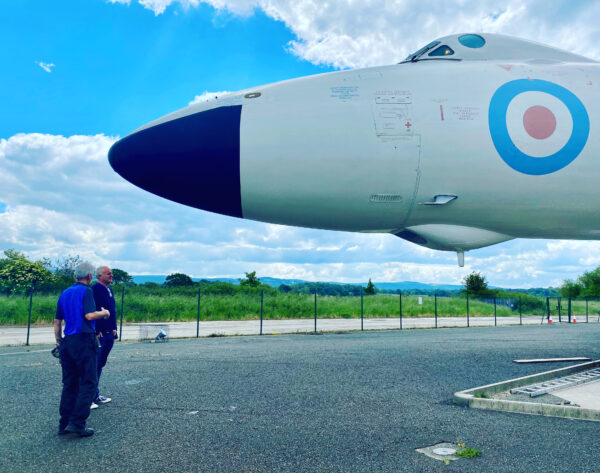 the Vulcan at AVRO Heritage Museum Stockport